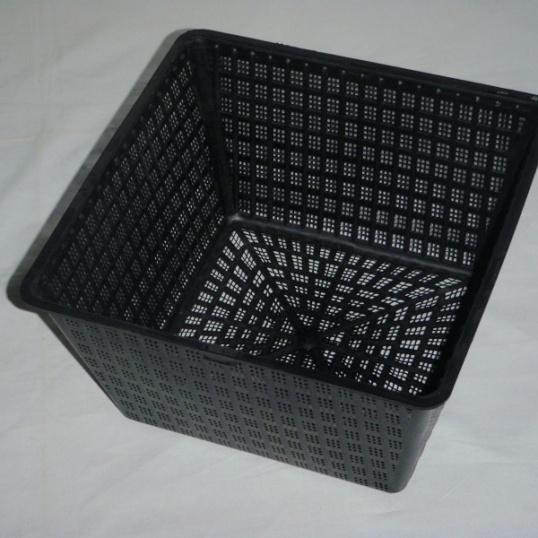 Aquatic Basket Large Square, Diameter 29 cm, Depth 18 cm, 10 litre