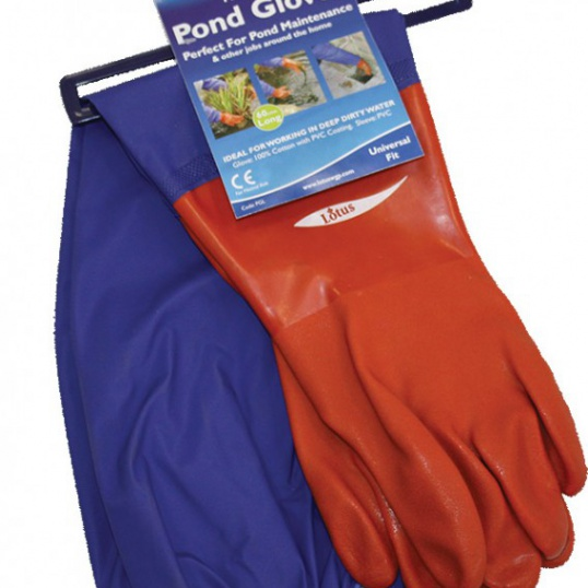 Stay Clean Pond Gloves-one size